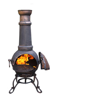 Cast Iron Firepits & Chimeneas