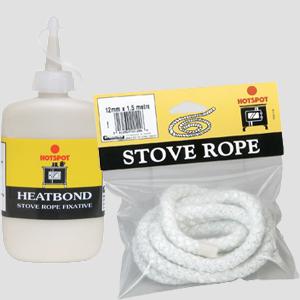 Stove Rope & Adhesive