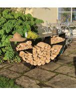 Half Circular Log Store